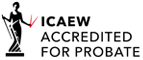 ICAEW Accredited for Probate logo